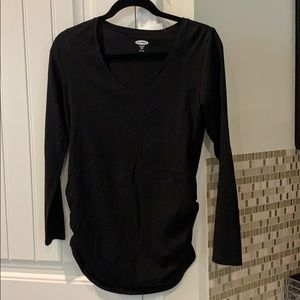 Old Navy Maternity Black Tshirt